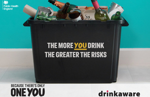 Drink Free Days campaign poster