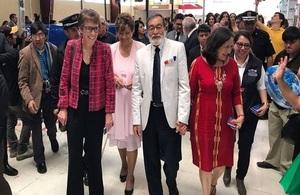 British Ambassador visit to Quetzaltenango