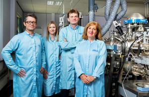 Ilika Technologies team photo