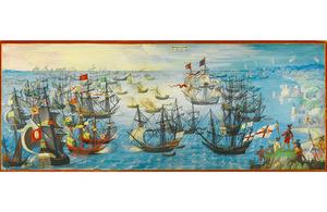 Spanish Armada painting
