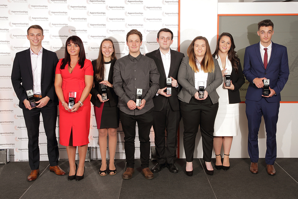 East of England: apprentice winners