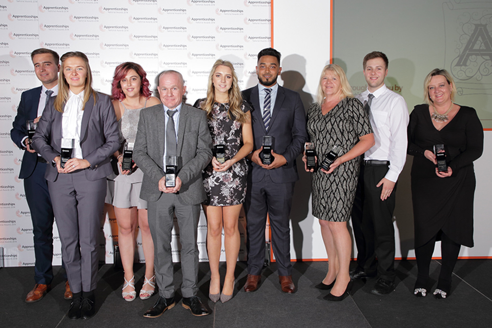 South East: apprentice and employer winners