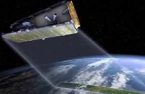 Artist's impression of NovaSAR satellite