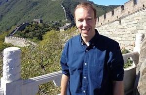 Matt Hancock in China