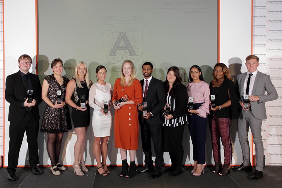 London: apprentice finalists