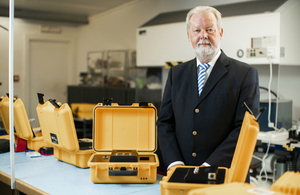 Managing Director of Alert Technology, Alan Archer