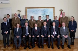 The UK and Chile have forged closer cyber links following a visit by Defence Minister Mark Lancaster.