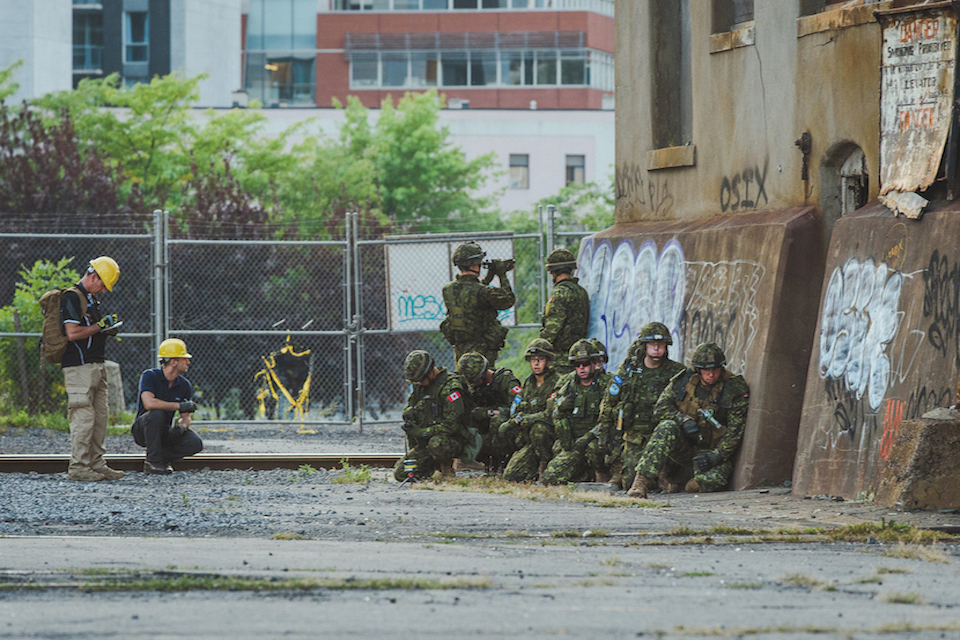 The Contested Urban Environment experiment took place this month over three weeks in Montreal, Canada.