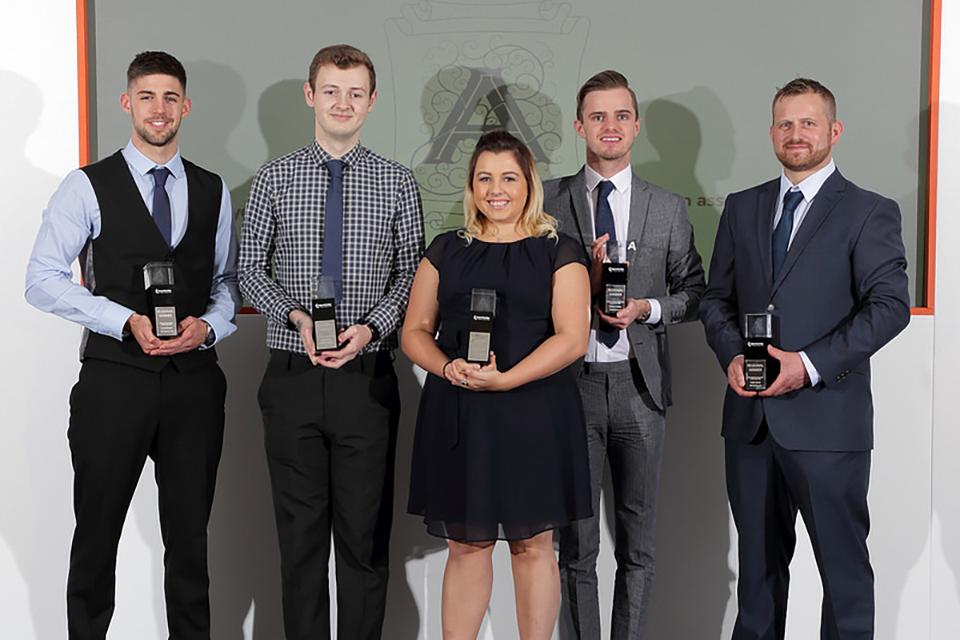 North West: apprentice winners