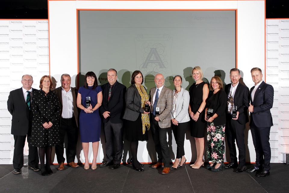 North East: employer winners