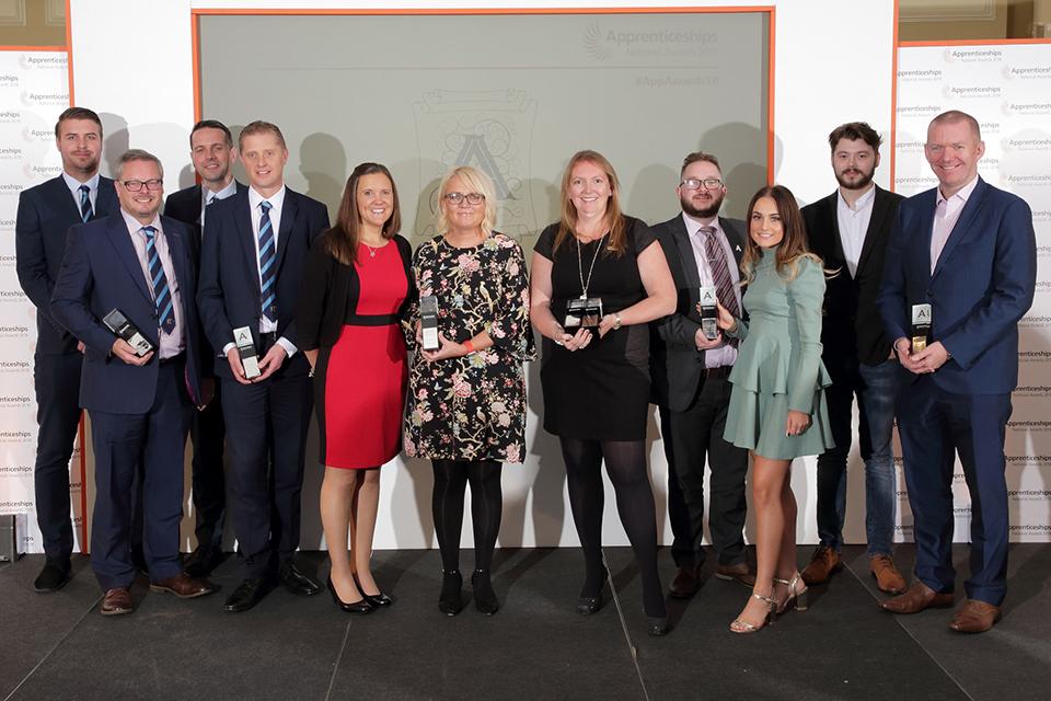 West Midlands: employer finalists