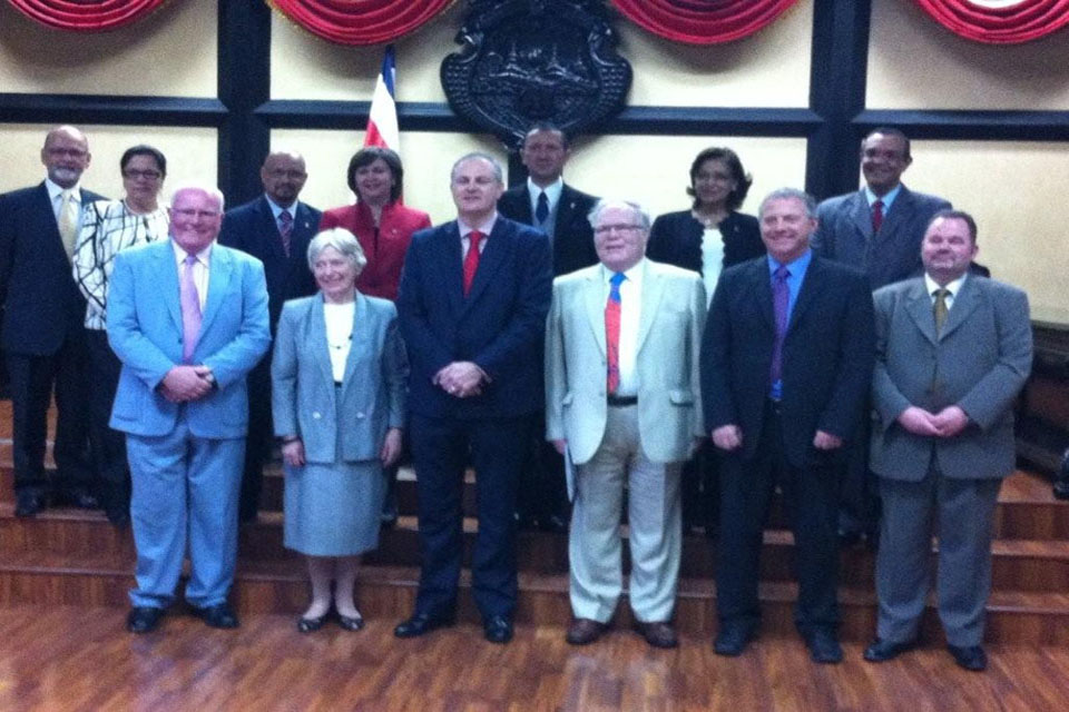British Interpaliamentary Delegation visit to Costa Rica