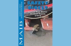 MAIB safety digest volume 2, 2018