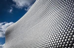 The Bullring in Birmingham