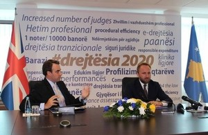 British Embassy launches new project to strengthen Kosovo's Judicial and Prosecutorial Systems
