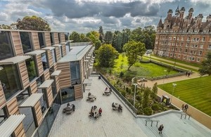 Royal Holloway University campus, where the centre will be based.