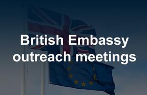 British Embassy Vienna outreach meetings