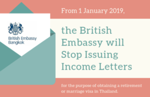 British Embassy Bangkok to Stop Certification of Income Letters