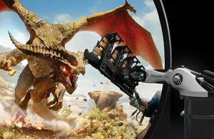 Simworx designs, manufactures and delivers dynamic simulators and 4D effects cinemas