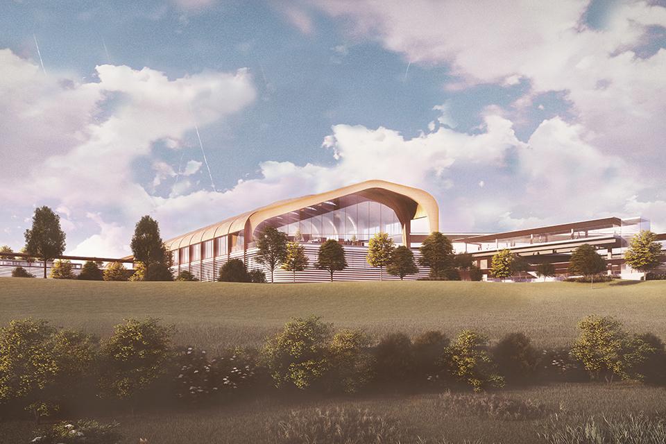 Design for the new HS2 Interchange station