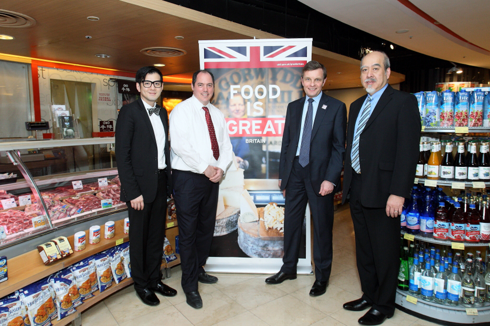 Welsh Secretary promotes Food is GREAT