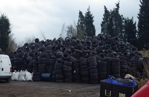 Tyres at Lazy Acre