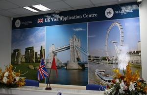 The new UK visa application centre in Ho Chi Minh City