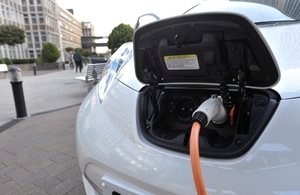 Plug in electric car.