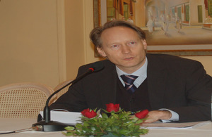 UK Ambassador to Tunisia Chris O'Connor