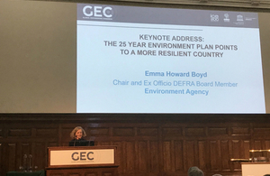 Environment Agency Chair Emma Howard Boyd