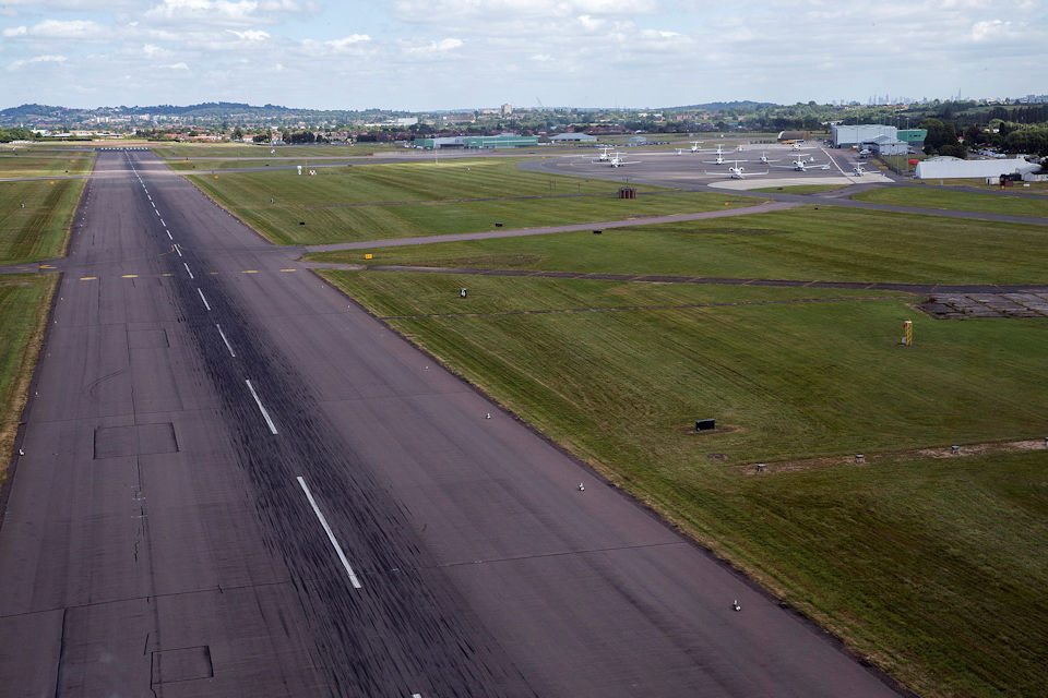 RAF Northolt from the air. Photo: Crown Copyright/MOD2017.