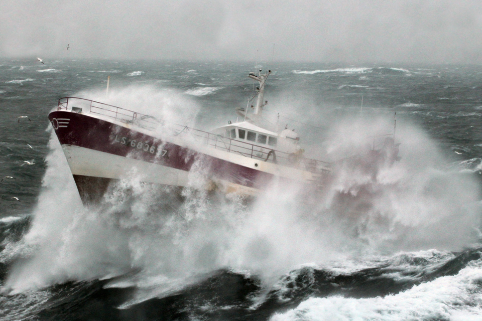 The French fishing vessel 'Alf'