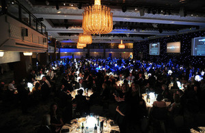 An image of the National Apprenticeship Awards 2017.