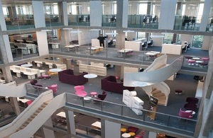 Picture of Bayes Centre interior