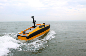 Understanding the data requirements of autonomous vessels will help to ensure the safety of navigation in UK waters