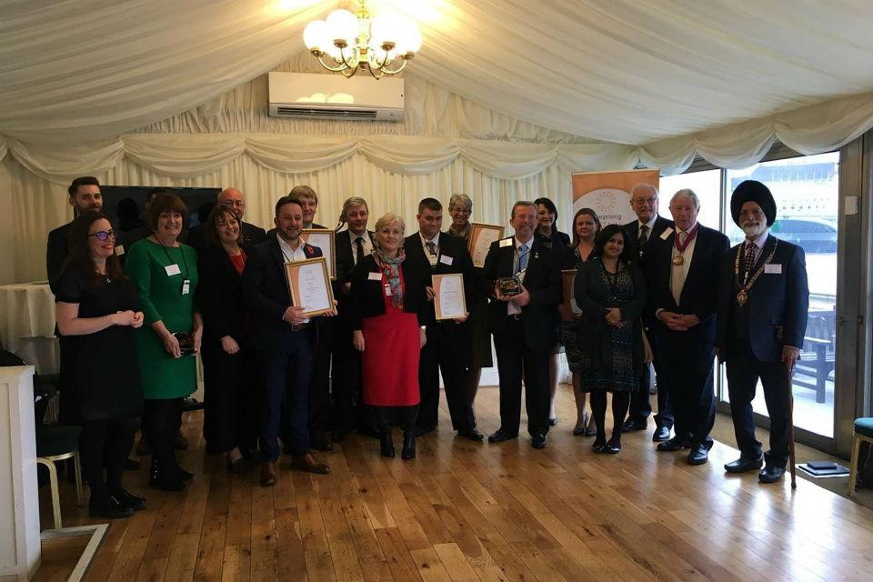 Enterprising Britain award ceremony