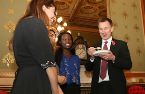 Jeremy Hunt and FCO staff