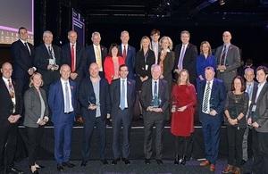 Winners of this year's NDA Group Supply Chain Awards