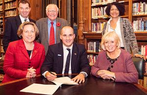 Devolution deal signing