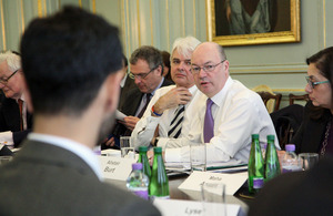 Foreign Office Minister Alistair Burt at the Jubilee Dialogue event in London.