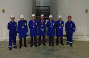CoRWM team visit Sizewell B