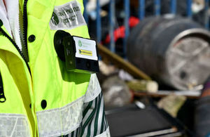 Body worn cameras to be used for enforcement purposes