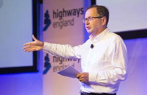 Highways England Chief Executive Jim O'Sullivan