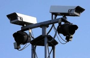 Two CCTV cameras