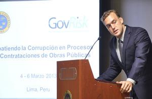"""""""Combating Corruption in Procurement Processes of Public Works"""" - GovRisk seminar-workshop held in Lima"""