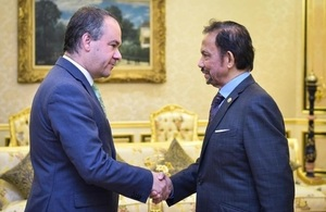 UK Trade Envoy meets His Majesty The Sultan of Brunei