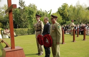 Remembrance Day marked by the British High Commission