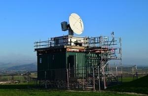 X-Band Weather Detector Radar