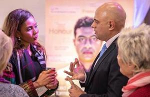 Home Secretary Sajid Javid at the International Conference on Ending FGM and Forced Marriage