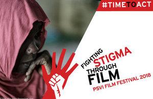 Fighting stigma through film graphic